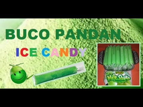 BUCO PANDAN ICE CANDY for Business (using Milk Shake Powder)