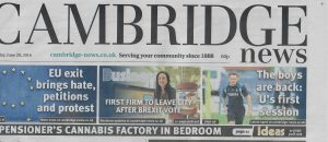 First Business to Leave Front Cover