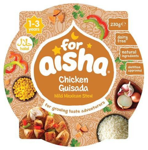 For Aisha Chicken Guisada Mild Mexican Stew (Tray Meal)