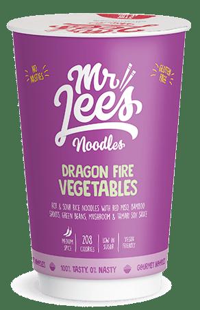 Mr Lee's Noodles Dragon Fire Vegetables