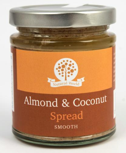 Nutural World Almond and Coconut spread - Smooth
