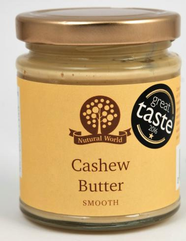 Nutural World Cashew Butter - Smooth