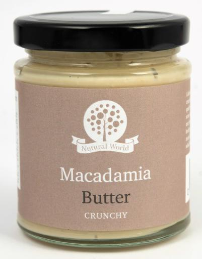 Nutural World Macadamia butter - Crunchy