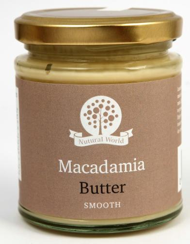 Nutural World Macadamia butter - Smooth