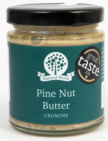 Nutural World Pine nut butter - Crunchy