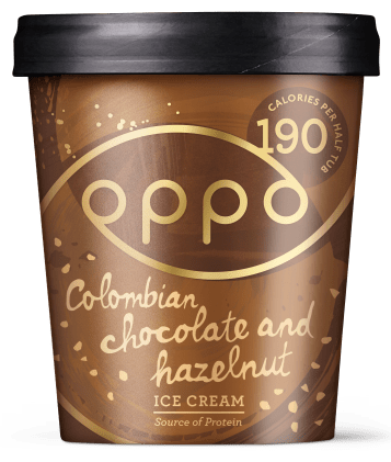 Oppo Brothers Columbian Chocolate and Hazelnut Ice Cream