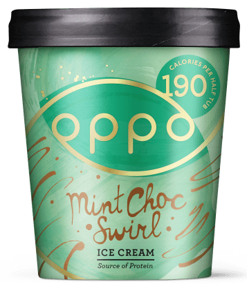 Oppo Brothers Mint Choc Swirl Ice Cream