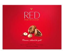 Red Delight Milk Chocolate Pralines With Nut Filling (Gift-Box) by Chocolette