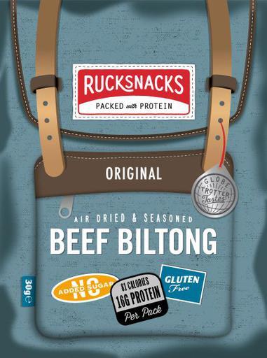 Rucksnacks Original Beef Biltong