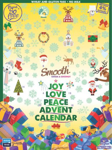 So free Smooth Advent Calendar by Plamil