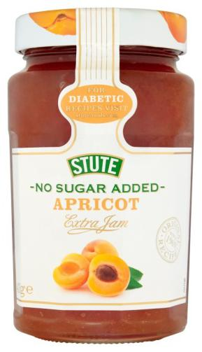 Stute No Sugar Added Apricot Jam