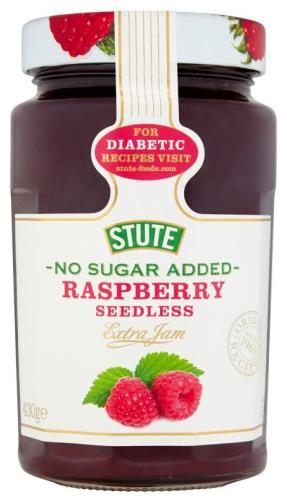 Stute No Sugar Added Raspberry Jam