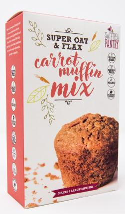 Sweetpea Pantry Carrot Muffin Mix with oats and flax