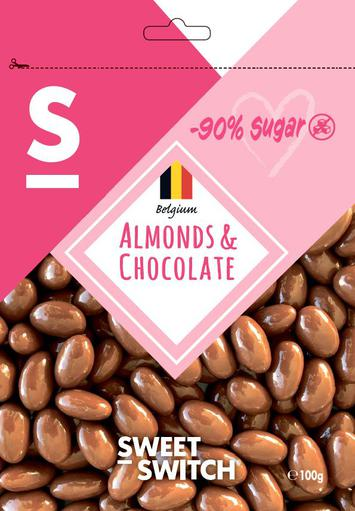 SWEET-SWITCH Almonds & Chocolates
