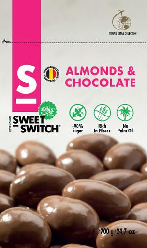 SWEET-SWITCH Almonds & Chocolates 700g