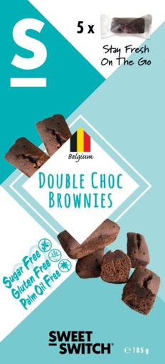 SWEET-SWITCH Double Choc Brownies