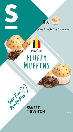 SWEET-SWITCH Fluffy Muffins