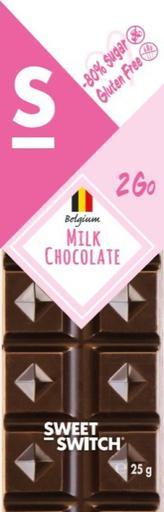 SWEET-SWITCH Milk Chocolate Bar Stevia