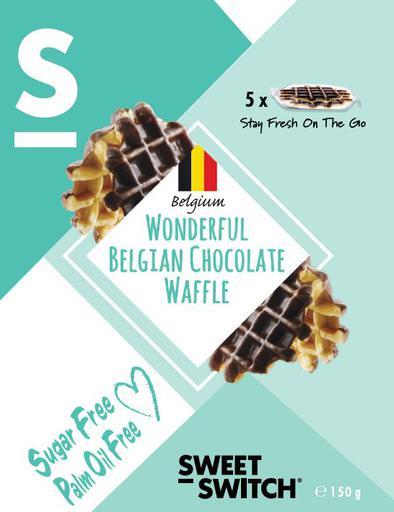 SWEET-SWITCH Wonderful Belgian Chocolate Waffle