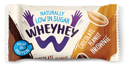 Wheyhey Chocolate Peanut Brownie 40g