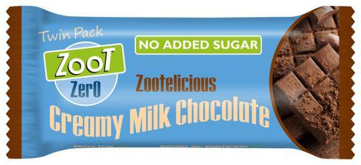 Zoot Zero Creamy Milk No Added Sugar Chocolate