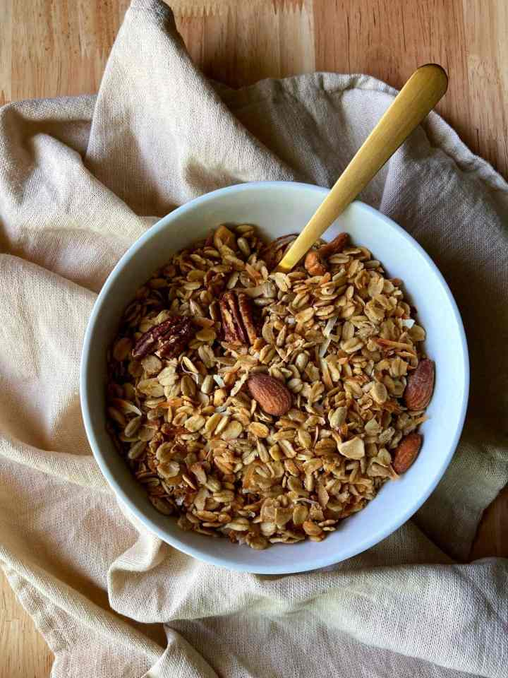 use what you've got granola