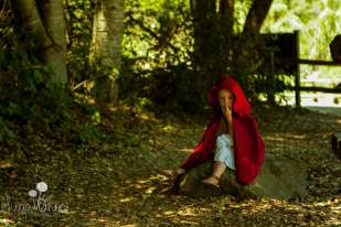 SugaShoc_Photography_Children_Photographer_Bucks County_Doylestown_PA_alone_red_riding_hood_theme_portrait