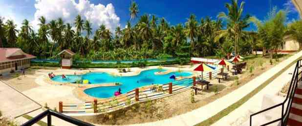 Varlina 39 s home resort with a spectacular pool in argao for Pool garden mountain resort argao