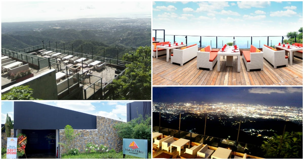 'Top of Cebu', a stunning Mountain-Top Restaurant in Busay