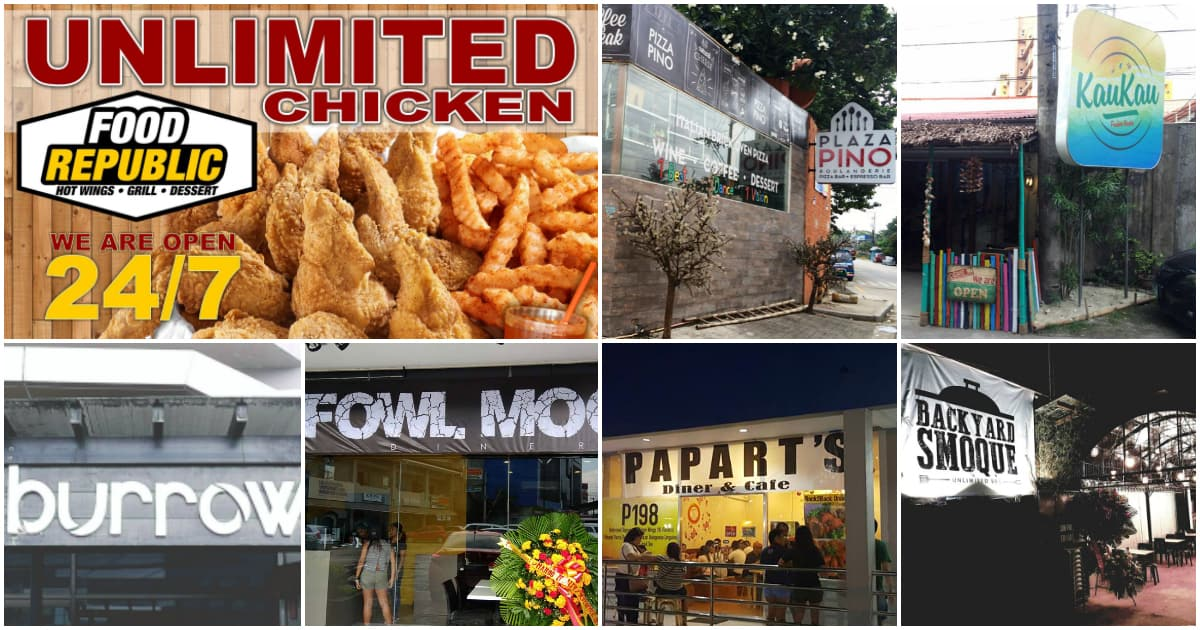 10 UNLIMITED Chicken Wings Restaurants in Cebu
