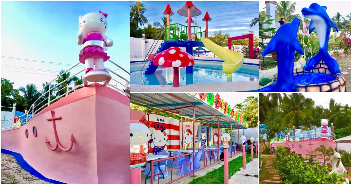 Sampan Garden Resort, Cebu's first HELLO KITTY resort