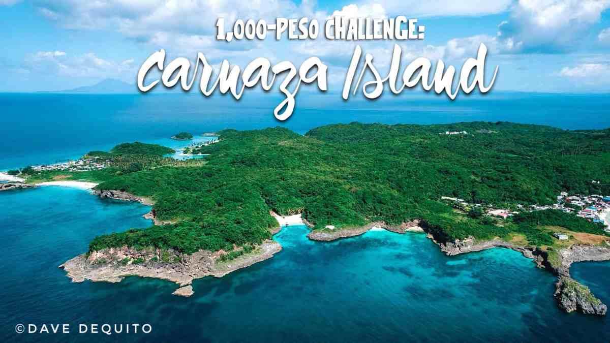 1,000-Peso Challenge: Carnaza Island, Cebu's hottest beach of 2018
