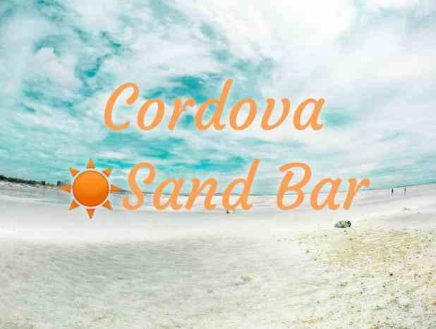 cordova white sandbar