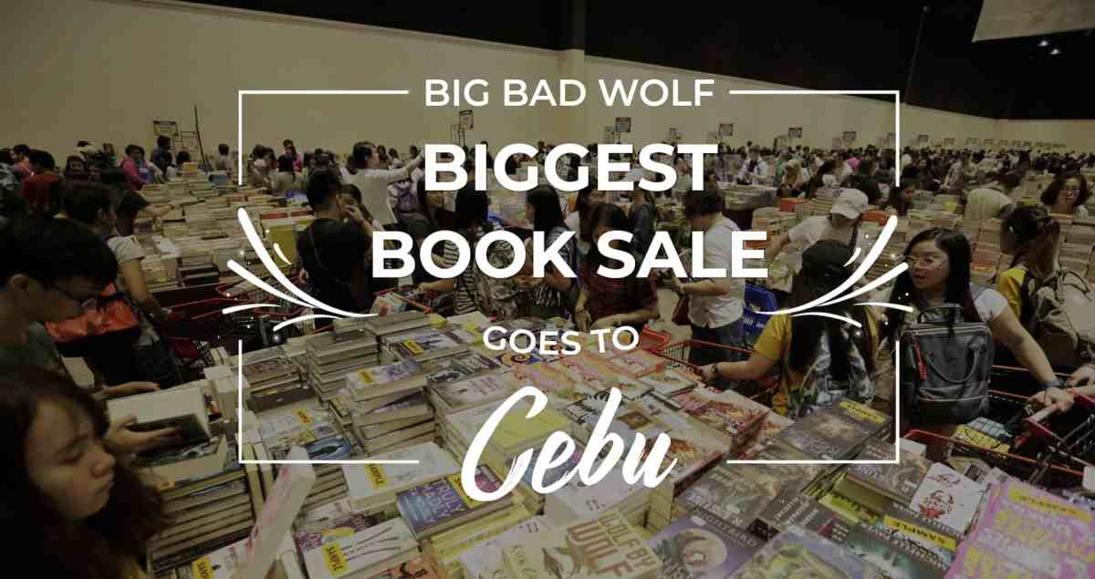 Big Bad Wolf's Biggest Book Sale in Cebu this July 2018