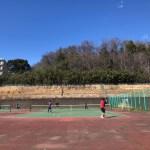調整池テニスコート