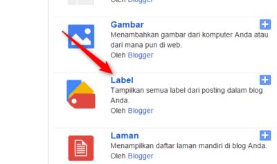 Cara Memberi Label Pada Postingan di Blog Blogger - Cara Menampilkan Label di Blogger 1