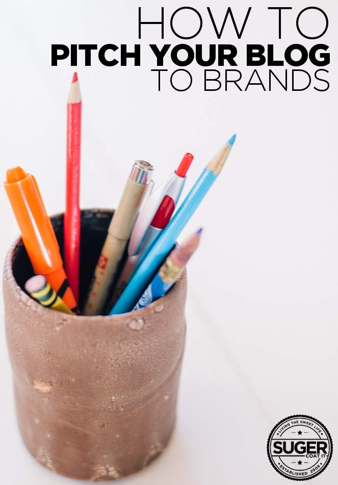 how to pitch your blog to brands - pitching for bloggers