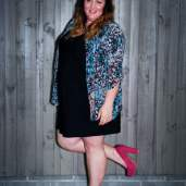 004 plus size lbd pink heels outfit, Aussie Curves plus size fashion blog, outfit of the day, ootd, Melissa Walker Horn, Suger Coat It, Australia
