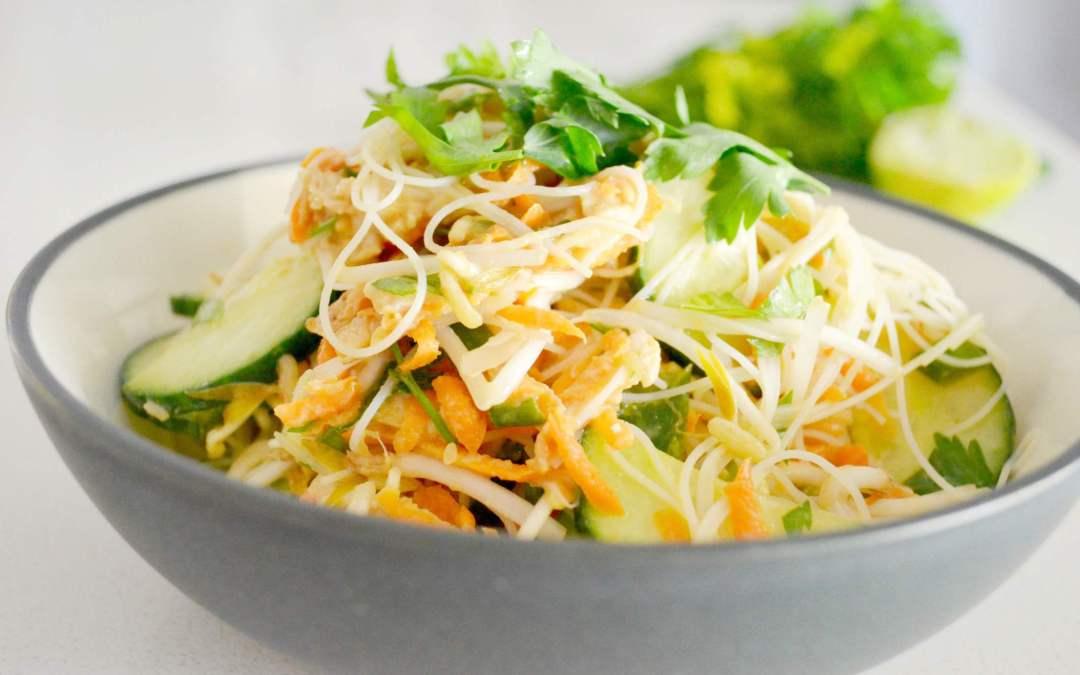 Peanut & Chicken Noodle Salad