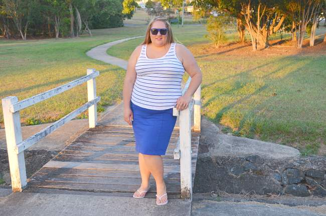 plus size casual fatshion outfit 001