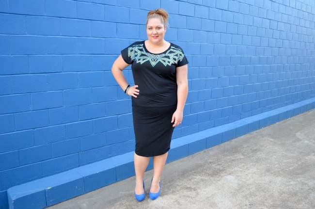 plus size dinner with the girls outfit 007