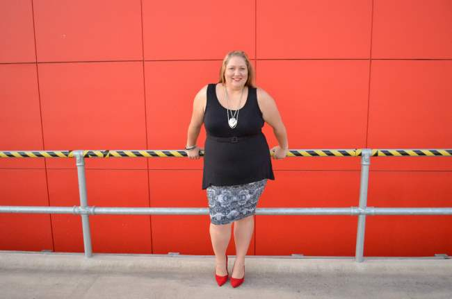 plus size valentines day outfit 002