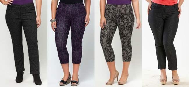 Virtu patterned pants 2013