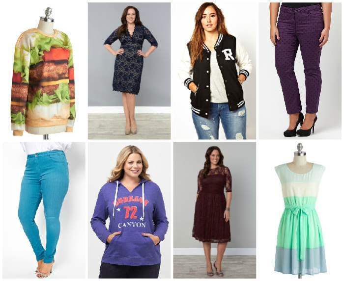 Rebel Wilson Steal Her Style Shopping Collage