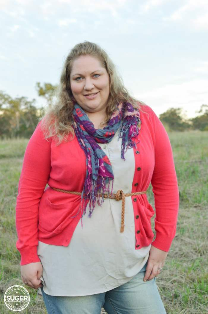 plus size winter layers outfit - aussie curves boho week-6