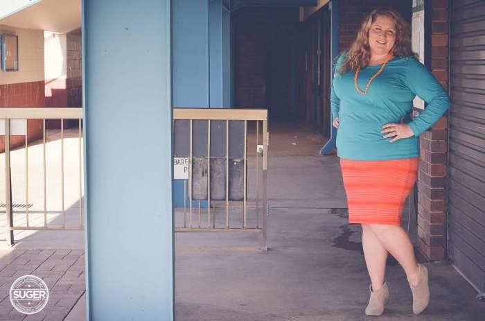 plus size fashion aussie curves colour clash outfit-7