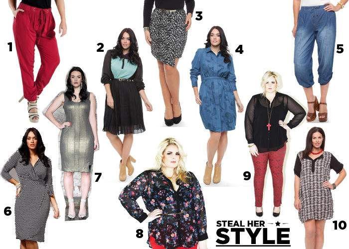 Steal Her Style Shopping: Aussie Curves