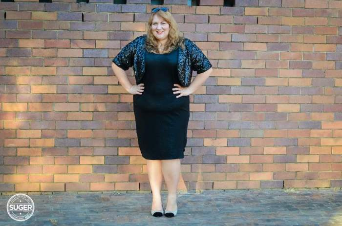 plus size party dress outfit sequin boloro-5