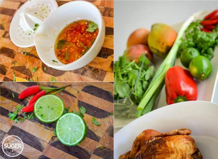 Chicken + Mango + Chilli Summer Salad 003