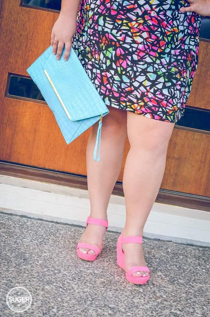 city chic plus-size print summer dress-9